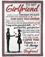 Gift For Girlfriend How Special You Are To Me Fleece Blanket Sherpa Blanket