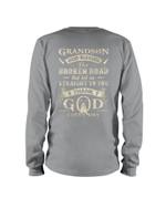 Grandparent Gift For Grandson Thank God Every Day Unisex Long Sleeve