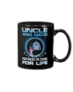 Uncle And Niece Best Partner In Crime For Life Gift For Family Mug