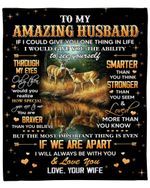 Hunting Gift For Husband You Are Stronger Than You Seem Fleece Blanket Fleece Blanket