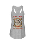 Gift For Grandma Being A NaNa Doesn't Make Me Old Ladies Flowy Tank