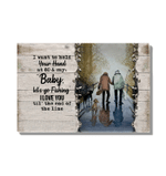 Gift For Wife I Want To Hold Your Hand Matte Canvas