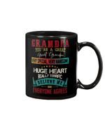 Grandchild Gift For Grandpa Very Special Huge Heart Mug