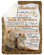 Couple Rings I Love You Always Fleece Blanket Sherpa Blanket