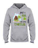 Just A Girl Who Loves Turtles Gift For Turtle Lovers Hoodie