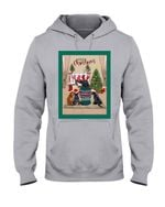 Warm Christmas With Cute Dachshund Gift For Dog Lovers Hoodie