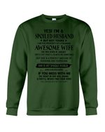 I'm A Spoiled Husband But Not Yours - Awesome Wife Was Born In January Sweatshirt