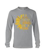 Sunflower In A World Full Of Grandmas Be A Gigi Gift For Grandma Unisex Long Sleeve