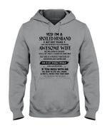 I'm A Spoiled Husband But Not Yours - Awesome Wife Was Born In January Hoodie