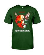 Market Trendz Meow Meow Meow Color Design Gift For Cat Lovers Guys Tee