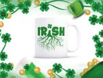 Irish Root Clover St Patrick's Day Printed Mug