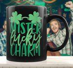 Mister Lucky Charm St Patrick's Day Printed Mug