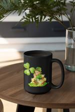Miniature Leprechaun Shamrock St Patrick's Day Printed Mug