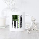 Florist Flag Green Clover Design St Patrick's Day Printed Mug