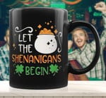 Let The Shenanigans Begin St Patrick's Day Printed Mug