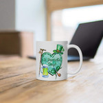 Leprechaun And Green Beer Shamrock St Patrick's Day Printed Mug