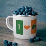 My Love For Irish Shamrock St Patrick's Day Printed Mug