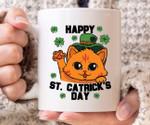 Happy St Catrick's Day Shamrock St Patrick's Day Printed Mug