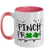 Pinch Proof Clover St Patrick's Day Printed Accent Mug