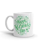Paisley Design Shamrock St Patrick's Day Printed Mug