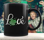 Love St Patrick's Day Celebration Printed Mug For Mom