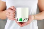 St. Patrick's Day Shamrock Love Printed Mug