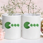 Funny Shamrock Clover St Patrick's Day Printed Mug