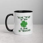 I'm Gay Or Irish Or Drunk Shamrock St Patrick's Day Printed Accent Mug