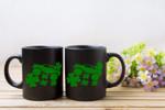 Green Truck Shamrock St Patrick's Day Printed Mug