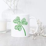 Gardener Clover St Patrick's Day Printed Mug