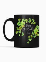 Decorative Shamrock St Patrick's Day Printed Mug