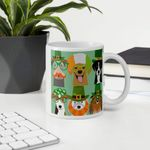 Animal World Costume Shamrock St Patrick's Day Printed Mug