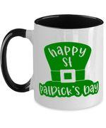 Leprechaun Hat Clover St Patrick's Day Printed Accent Mug