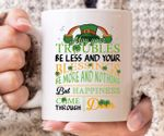 May Your Troubles Be Less Shamrock St Patrick's Day Printed Mug