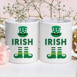 Irish Socks Shamrock St Patrick's Day Printed Mug
