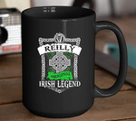 Reilly Original Irish Legend Shamrock St. Patrick's Day Printed Mug