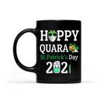 Happy Quara 2021 Clover St Patrick's Day Printed Mug
