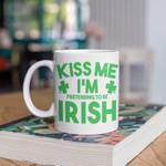 I'm Pretending To Be Irish Shamrock St Patrick's Day Printed Mug