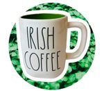 Irish Coffee Clover St Patrick's Day Printed Mug