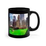 Chicago Green River Shamrock St Patrick's Day Printed Mug