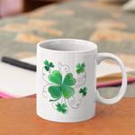 Some Lucky Shamrocks Clover St Patrick's Day Printed Mug