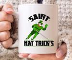Saint Hat Trick's Hockey St Patrick's Day Printed Mug