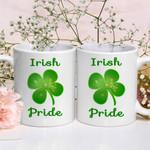 Irish Pride Shamrock St Patrick's Day Printed Mug