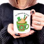 You Shamrock The World Shamrock St. Patrick's Day Printed Mug
