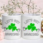 Let's Get Shamrocked St Patrick's Day Printed Mug