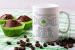 It's In My Dna Clover St. Patrick's Day Printed Mug