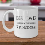 Best Dad In 7 Kingdoms Printed Mug For Dad
