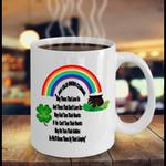 Old Irish Curse Rainbow St Patrick's Day Printed Mug