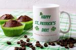 Meaningful Quote Shamrock St Patrick's Day Printed Mug