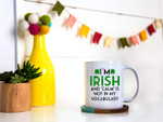 I'm Irish Green Clover St Patrick's Day Printed Mug